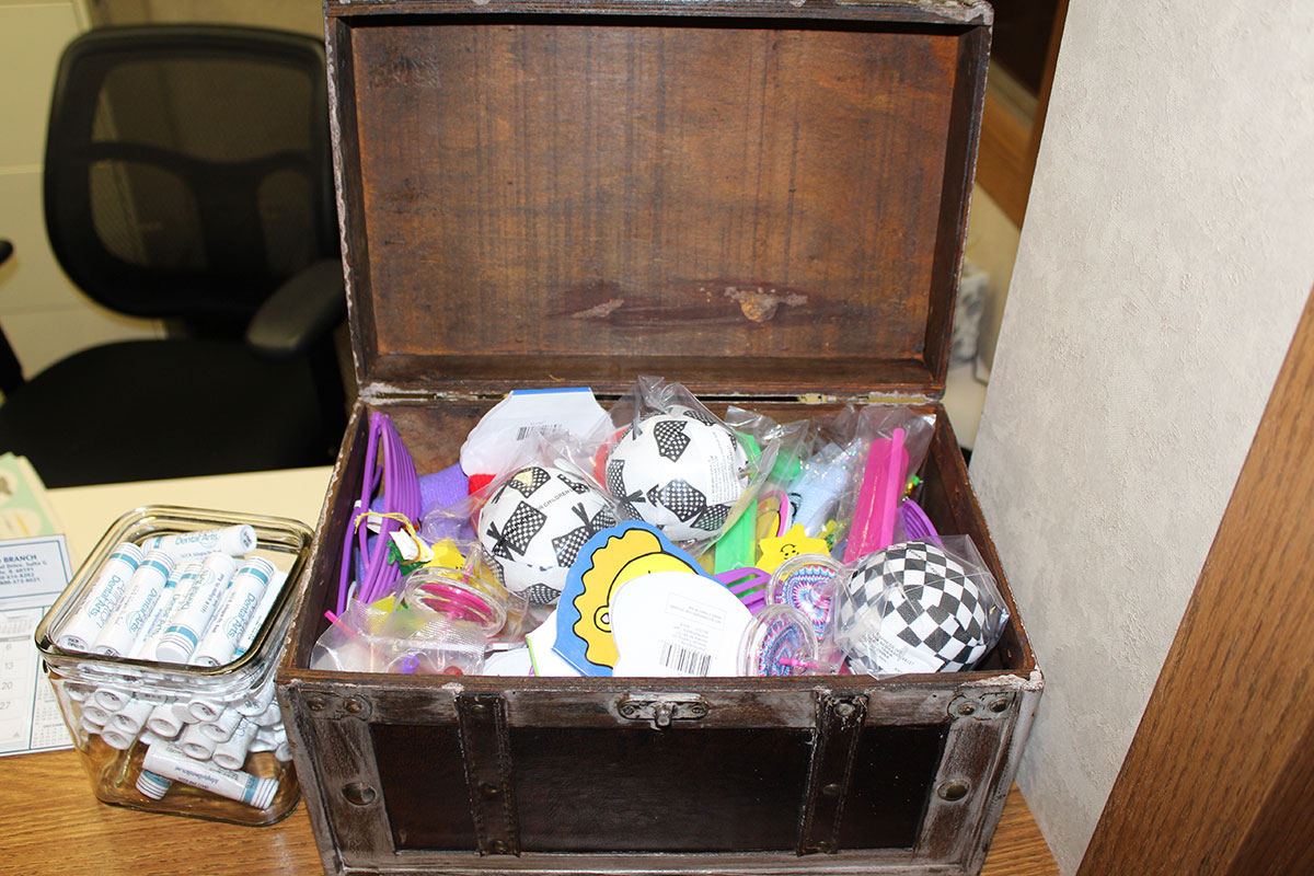 Treasure Chest - Office Tour - Arlington Dental Arts
